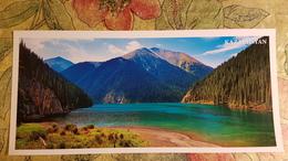 KAZAKHSTAN. Kungei Alatau - Modern  Postcard  - Euro Format - Kazakhstan