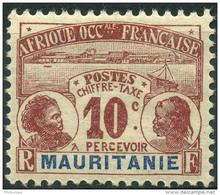 Mauritanie (1906) Taxe N 10 * (charniere) - Mauritanie (1906-1944)