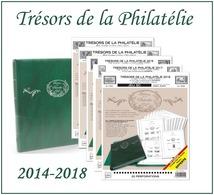 Nouveauté Pack Trésors De La Philatélie 2014-2018 + Album Supra - Álbumes & Encuadernaciones