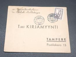 FINLANDE - Enveloppe De Keitele Pour Tampere En 1946 - L 19630 - Cartas