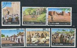(lot 71) Oman Ob  Série De  6 Tbres - Batailles - - Oman