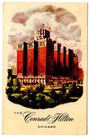 United States Vintage Postcard The Conrad Hilton Hotel - Chicago, Illinois - Chicago