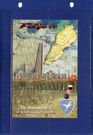 """##(DAN187/1)- LEBANON 2007-cartolina Brigata Paracadutisti FOLGORE, Annullo Rientro Contingente """"Operazione Leonte 2 """" - Misiones"""