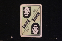 Playing Cards / Carte A Jouer / 1 Dos De Cartes Avec Publicité / Cointreau, Liqueur,  Likeur - La Marque Mondiale - Other