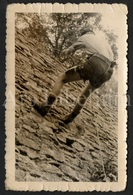 Photo Ancien / Foto / Photograph / Photo Size: 5.80 X 9 Cm. / Scouting / Scouts / Boy / Garçon / Padvinders - Anonyme Personen
