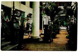 Cuba Vintage Postcard The Yard Of Hotel Florida - Havana - Cuba
