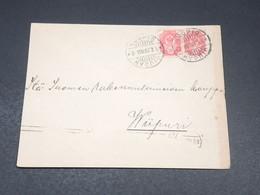 FINLANDE - Enveloppe De Kuopio En 1907 , Administration Russe - L 19633 - Storia Postale