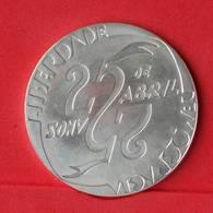 PORTUGAL 1000 ESCUDOS 1999 - 27 GRS - 0,500 SILVER   KM# 715 - (Nº23899) - Portugal