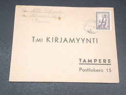 FINLANDE - Enveloppe Pour Tampere En 1946 - L 19634 - Cartas