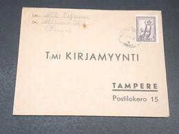 FINLANDE - Enveloppe Pour Tampere En 1946 - L 19634 - Finland