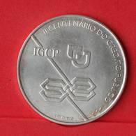 PORTUGAL 1000 ESCUDOS 1997 - 28 GRS - 0,500 SILVER   KM# 703 - (Nº23900) - Portugal