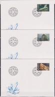 Lichtenstein FDC  1989  MiNr.981 - 983  Mineralien( D 6171 )  Günstige Versandkosten - FDC