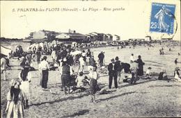 D 34 - PALAVAS-LES-FLOTS - La Plage - Rive Gauche - Palavas Les Flots
