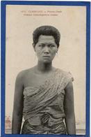 CPA Cambodge Types Asie écrite Femme Buste - Cambodge