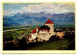 Liechtenstein Modern Postcard Castle Vaduz - Liechtenstein