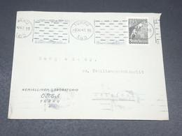 FINLANDE - Enveloppe De Turku Pour Helsinki En 1947 - L 19635 - Cartas