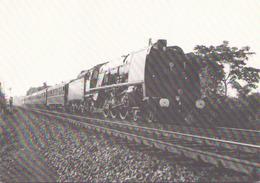 VAPEURS BELGES LOCOMOTIVE TYPE 1 A LIEGE HAUT PRE - Trains