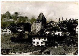 Liechtenstein Vintage RPPC Postcard Vaduz, Rotes Haus - Liechtenstein