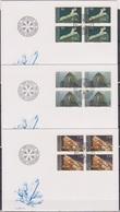 Lichtenstein FDC  1989  MiNr.981 - 983 4er Block Mineralien ( D 6172 )  Günstige Versandkosten - FDC