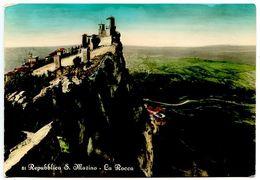San Marino Vintage RPPC Postcard La Rocca - San Marino