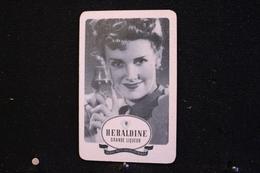 Playing Cards / Carte A Jouer / 1 Dos De Cartes Avec Publicité / Distillerie-Heraldine, Jacques Neefs.Antwerpen - Anvers - Cartes à Jouer