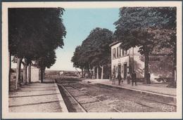 Corre , La Gare , Animée - France