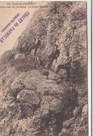 Cp , 74 , ANNECY , Environs , Ascension Du Parmelan , Le Grand Montoir - Annecy