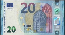 "EURO 20  ITALIA SC S016  ""32""  DRAGHI  UNC - EURO"
