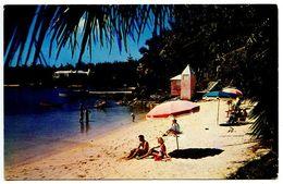 Bermuda Modern Postcard Beach At Mangrove Bay, Somerset - Bermuda