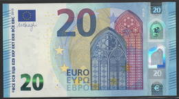 "EURO 20  ITALIA SB S016  ""32""  DRAGHI  UNC - EURO"