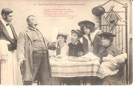 Thèmes - Spectacle - Bergeret - La Famille Durand Au Restaurant - Théâtre