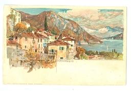 1900's, Italy, Menaggio, Manuel Wielandt Litho Art Pc, Used, Nice Pmk. - Wielandt, Manuel