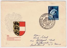 1950, Nr. 954, Selt. EF, Portogerecht ,vom Ersttag !!   , #a736 - 1945-60 Briefe U. Dokumente