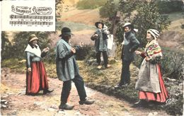 Thèmes - Folklore - Danses - Types D'Auvergne - La Bourrée - Bailes
