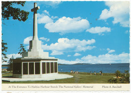 At The Entrance To Halifax Harbour Stands The National Sailors' Memorial - Halifax