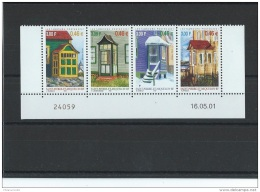 ST PIERRE ET MIQUELON 2001 - YT N° 746/749 NEUF SANS CHARNIERE ** (MNH) GOMME D'ORIGINE LUXE - St.Pierre & Miquelon