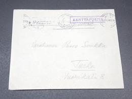 """SUÈDE - Enveloppe En Franchise """" Kenttäpostia """" En 1942 Pour Turku - L 19643 - Lettres & Documents"""
