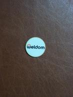 Jeton De Caddie En Plastique - Weldom - Grande Surface De Bricolage - Trolley Token/Shopping Trolley Chip