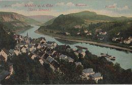 Wehlen - Mit Rauenstein Und Pötzscha - Ca. 1925 - Wehlen
