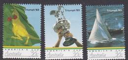Australia ASC 1044-1046 1986 America's Cup, Mint Never Hinged - 1980-89 Elizabeth II