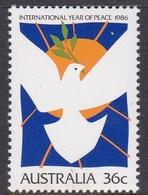 Australia ASC 1047 International Year Of Peace, Mint Never Hinged - 1980-89 Elizabeth II