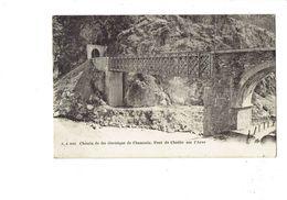 Cpa - Chemin De Fer électrique De Chamonix - Pont De Chedde Sur L'Arve - J.J. 5011 - Sonstige