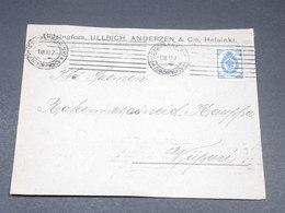 FINLANDE - Enveloppe Commerciale De Helsinki En 1910 , Administration Russe - L 19645 - Storia Postale