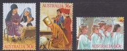 Australia ASC 1048-1050 1986 Christmas, Mint Never Hinged - 1980-89 Elizabeth II