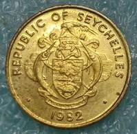 Seychelles 5 Cents, 1982 ↓price↓ - Seychelles