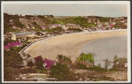 St Brelade's Bay, Jersey, 1956 - Valentine's RP Postcard - Jersey