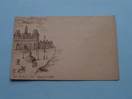 La PLACE De GREVES 1682 (?) Anno 19?? ( Voir Photo Pour Detail Svp ) ! - France