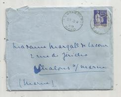 Timbre , LE GRAU DU ROI , GARD , 1939 - Marcophilie (Lettres)
