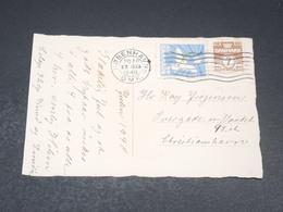 DANEMARK - Affranchissement De Copenhague En 1940 Sur Carte Postale - L 19647 - Lettres & Documents