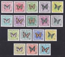 GUINEE N°  146 à 159, AERIENS N° 32 à 34 ** MNH Neufs Sans Charnière, TB (D7535) Insectes, Papillons 1963 - Guinée (1958-...)